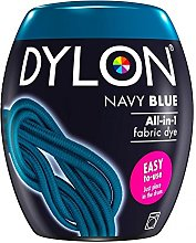 Dylon Teinture textile bleu marine machine