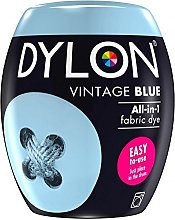Dylon Teinture textile bleu vintage pour machine