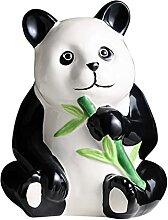DZBOCM Tirelire en céramique, Banque de Panda,