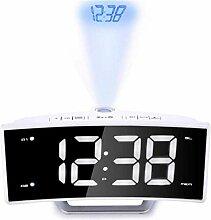 DZXYW Réveil Miroir LED Montre électronique