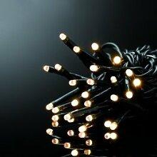 E=M6 5EEX313WW Guirlande 500 LED, Plastique, Blanc