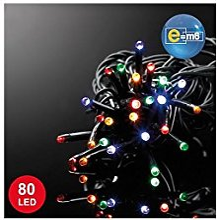 E=M6 5EEX545MC Guirlande 80 LED, Plastique,