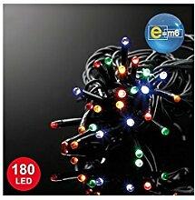 E=M6 5EEX549MC Guirlande 180 LED, Plastique,