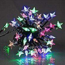 E=M6 5EEX564MC Guirlande Etoile Souple 60 LED,