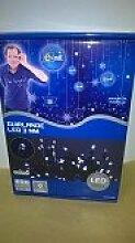 E=M6 5EEX928BC Guirlande 600 LED, Plastique, Blanc