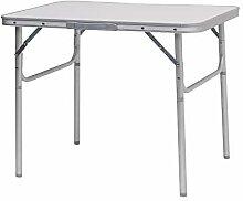 E-starain Table de Camping Pliante Réglable en