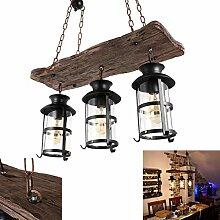 E27 lustre suspension lampe vintage rétro Edison
