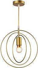 E27 Métal Retro Suspensions Luminaire Lampe