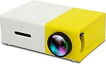 EANSSN Mini Projecteur LED, Support 1080P HDMI USB