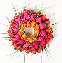 Earthily Décoration de porche, Simulation Tulipe
