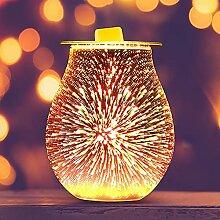 EASONGEE Lampe électrique d'aromathérapie 3D