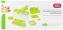 Easy Make KD3211 Mandoline Multifonction 5EN1,