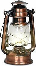 Eaxus® Lanterne 15 LED en cuivre au design de