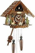 Eble 24722 Horloge à coucou musicale en bois