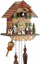 Eble 60820000 Horloge à coucou musicale en bois