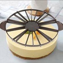 EBTOOLS Diviseur de gâteau Ménage rond 10/12