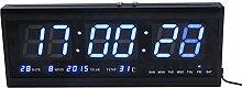 EBTOOLS Horloge Numérique LED Horloge avec