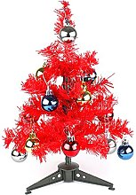 eBuyGB Mini Sapin de Noël Artificiel avec Boules