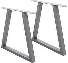 ECD Germany Set 2 Pieds de Table - 60 x 72 cm -