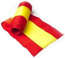 Écharpe drapeau espagne - echarpe douce design -