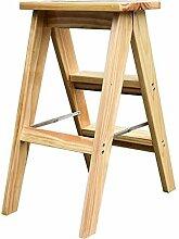 Échelle en bois for adultes, échelle pliante en