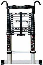 Echelle Telescopique Aluminium Ladder avec Crochet