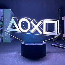 Éclairage 3D pour Playstation - Veilleuse LED -