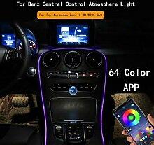 Éclairage d'ambiance pour Mercedes Benz C MB
