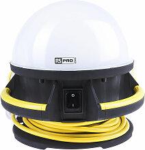 Eclairage de chantier industriel Dôme, 50 W, RS