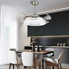 Éclairage de plafond invisible avec lame