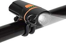 Éclairage de vélo Avant USB Phare de vélo
