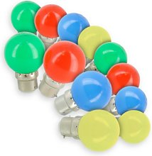Eclairage Design - Lot de 12 Ampoules LED B22