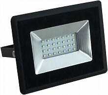 Eclairage Design - Projecteur LED 20W Noir IP65