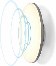 Éclairage extérieur LED blanc chaud 1400 lm 360