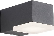 Eclairage exterieur mural AMITY 1x4W Led anthracite