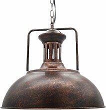 Éclairage Industriel Antique Métal Pendentif