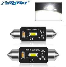 Éclairage intérieur de voiture C5W LED, 2