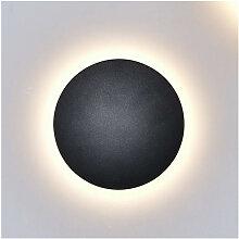 Eclairage mural LED couleur noire - Lunar - Noir