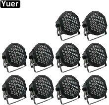 Éclairage professionnel LED 36x3W RGB 3 en 1, 10