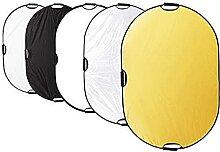 Éclairage Réflecteur Diffuseur Réflecteur Ovale