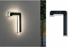 Eclairage solaire pour numéro de maison Paulmann