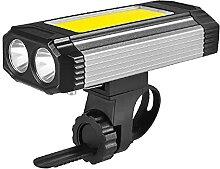 Eclairage Vélo Etanche, LED Lumiere Velo Avant &