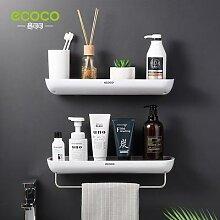 ECOCO – étagère de salle de bain adhésive,
