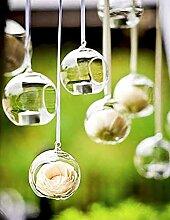 Ecosides 24 pcs 8 cm Suspendus Photophore Bougeoir