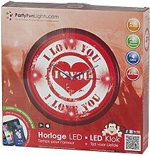 EDCQ8 86397 Horloge d'amour 4 LED