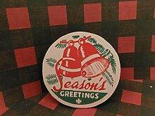 Eden533ope Décoration de Noël en Bois pour