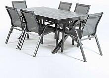 Edenjardin - Ensemble Jardin, table extensible