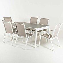 Edenjardin - Ensemble pour terrasse, table