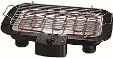 EDM 07644 Barbecue électrique 2000 W, Noir