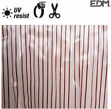 EDM - Rideau de porte lanières en plastique